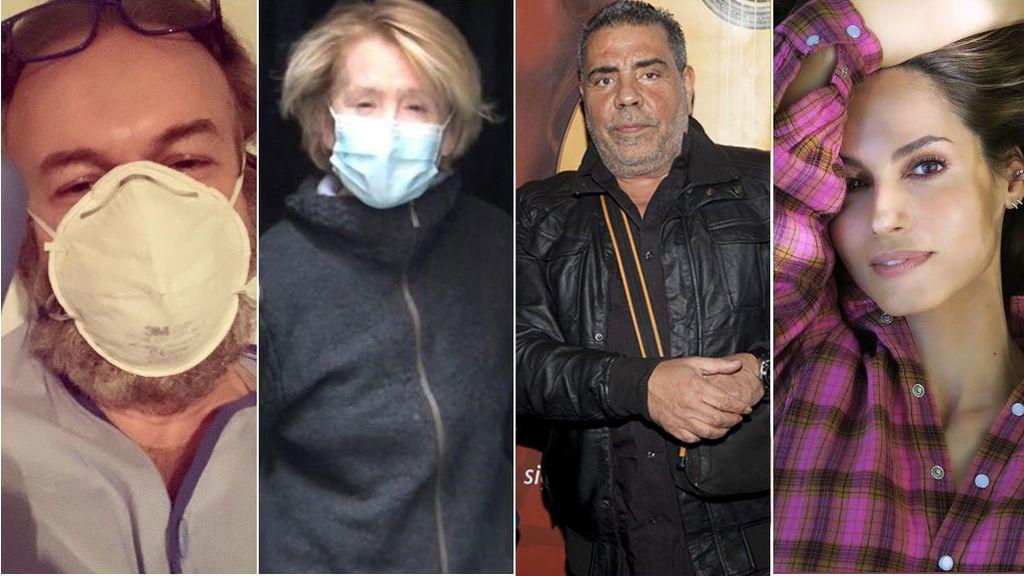 El coronavirus no entiende de clases: famosos que lo combaten con mucho esfuerzo