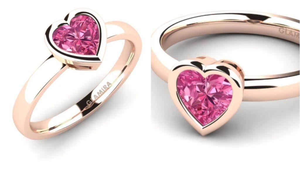 El anillo de Glamira.