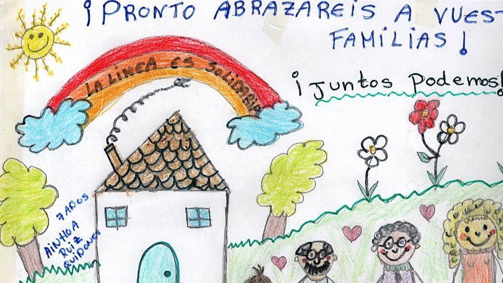 Los abuelos bien, gracias: 22, de los 27 ancianos de Alcala del Valle que permanecen en La Línea, superan el covid-19