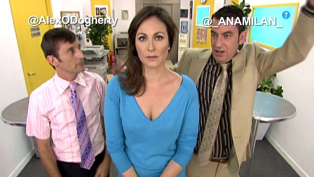 Los actores de 'Camera Café' comentan el episodio en directo