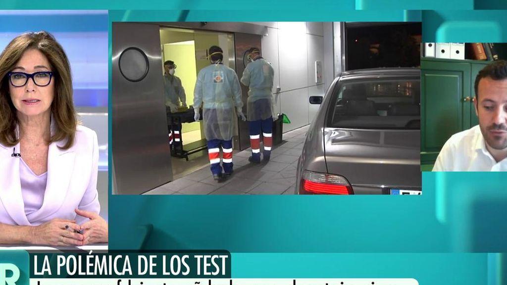 El Gobierno responde a la empresa que distribuye test de coronavirus