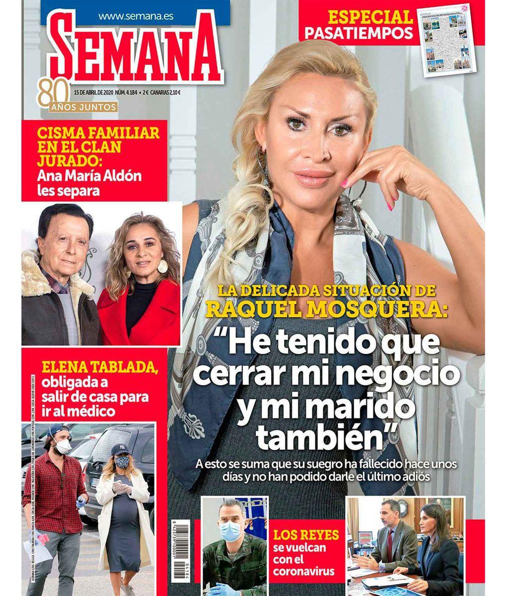 Raquel Mosquera en la portada de la revista 'Semana'