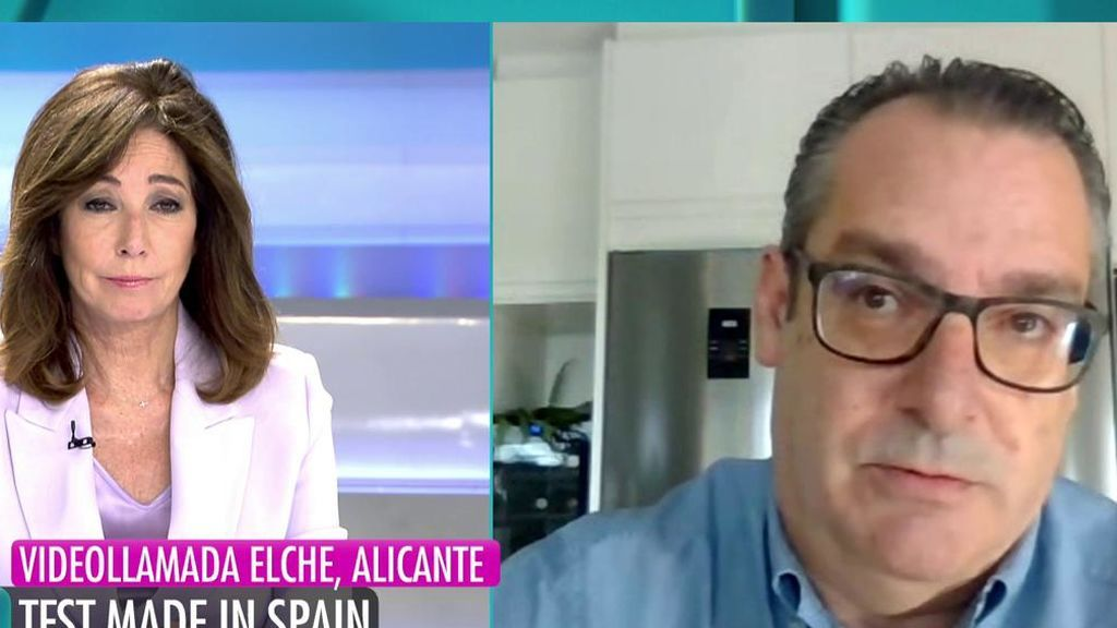 """Antonio Martínez: """"tenemos en stock 130.000test PCR que no nos han pedido aún"""""""