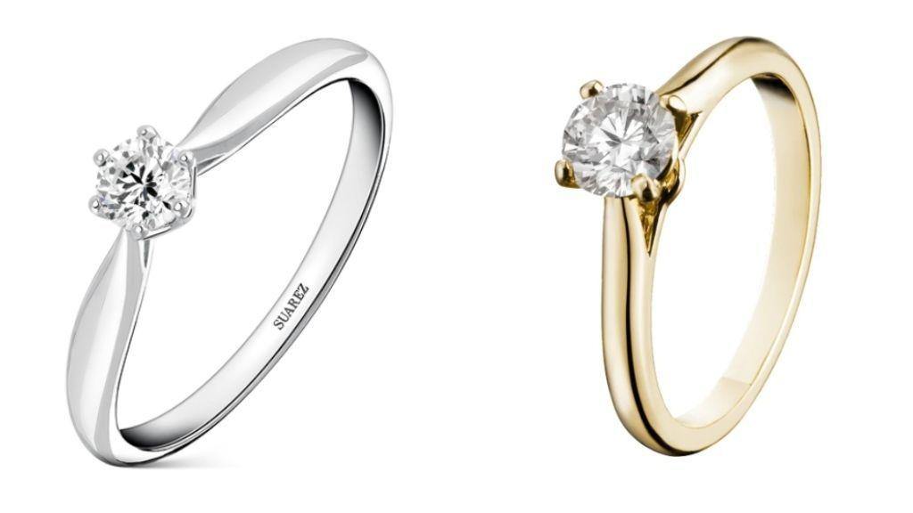 Los anillos de Suárez y Cartier.