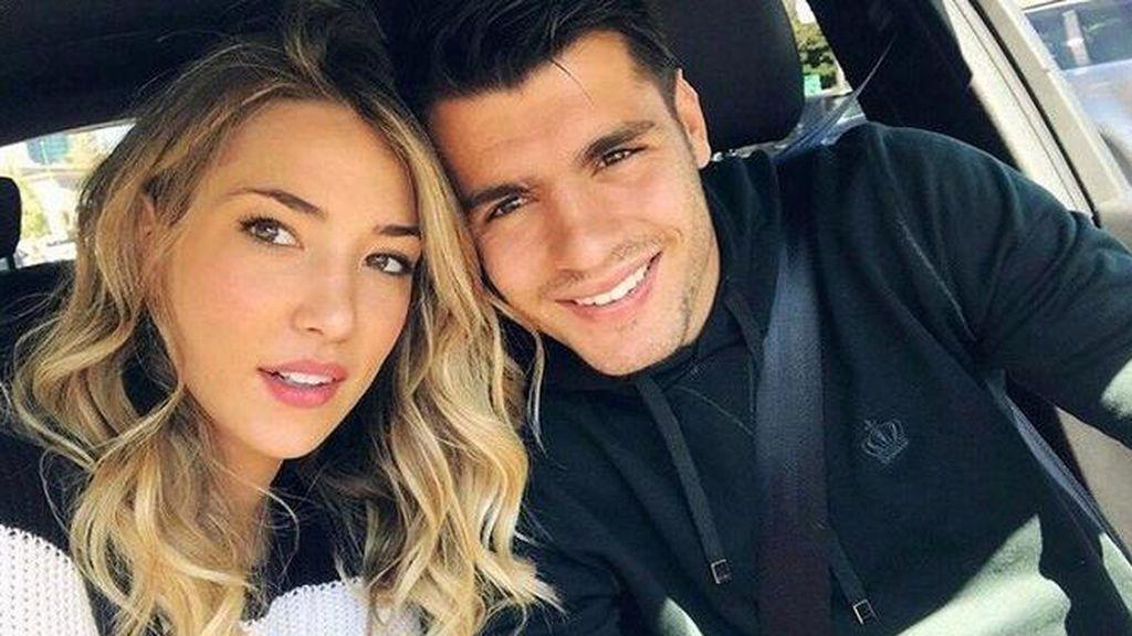 """Álvaro Morata y Alice Campello confirman que el sexo del bebé que esperan: """"Nos falta uno para un equipo de fútbol"""""""
