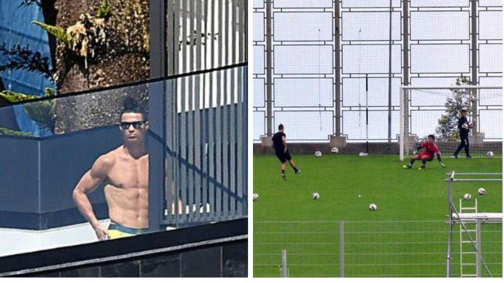 """Cristiano Ronaldo desobedece las recomendaciones sanitarias y se va a entrenar a un estadio: """"No tenía autorización especial"""""""