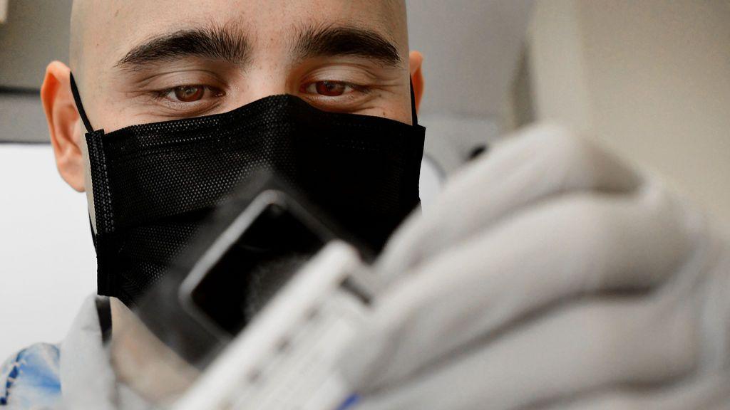 Muestra de los test para detectar el coronavirus