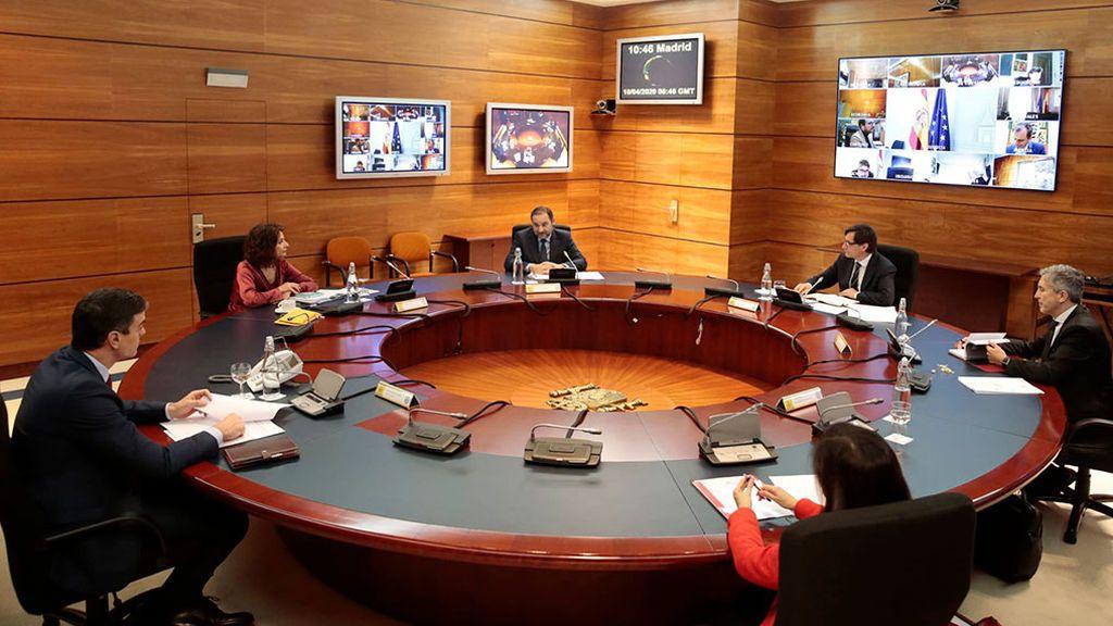 Consejo de Ministros 10 abril