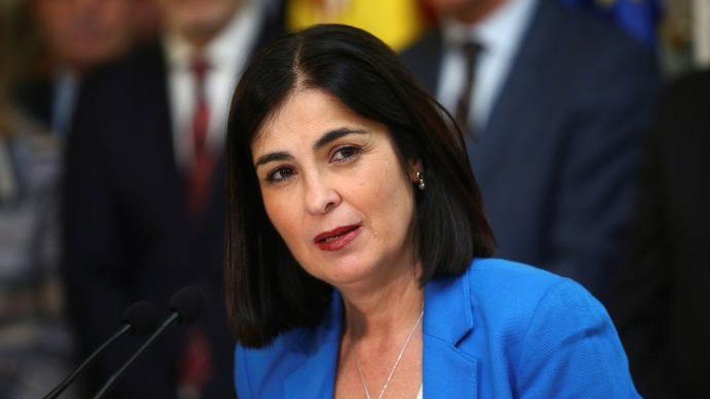 Carolina Darias, ministra de Política Territorial y Función Pública, anuncia que ha superado el coronavirus