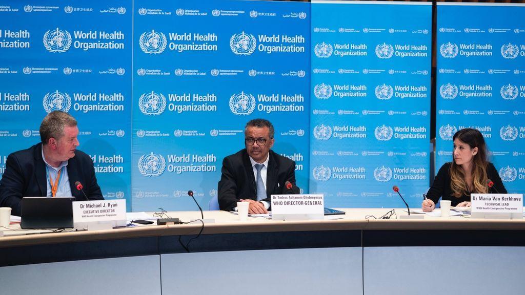 LaOMS destaca la desaceleración de casos en España e Italia