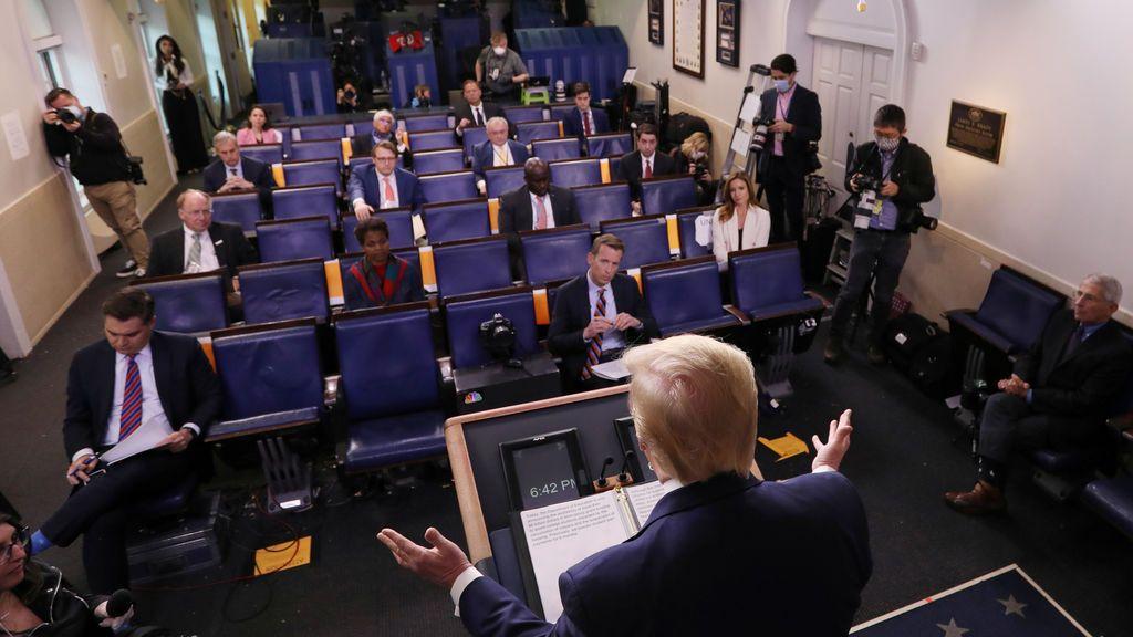 """Donald Trump sobre la """"reapertura"""" de EEUU: """"Es la decisión más importante de mi vida"""""""