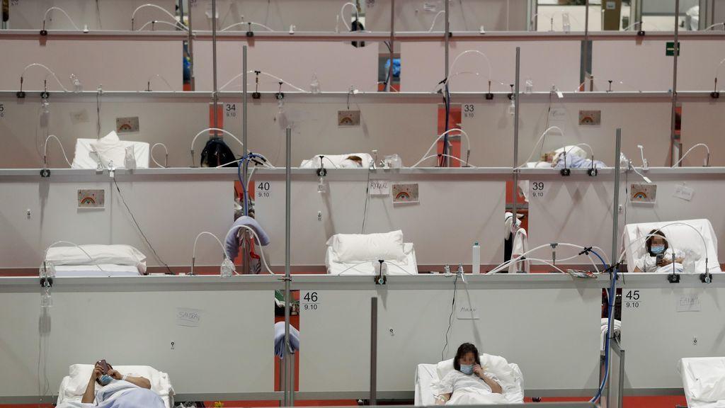 Vuelven a elevarse el número de muertes en España por coronavirus: 619 en las últimas 24 horas