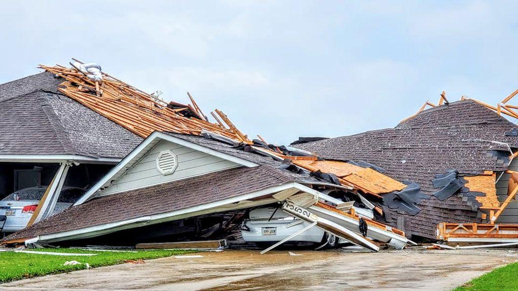 Tornados y confinamiento en Estados Unidos: se adelanta la temporada en el peor momento posible