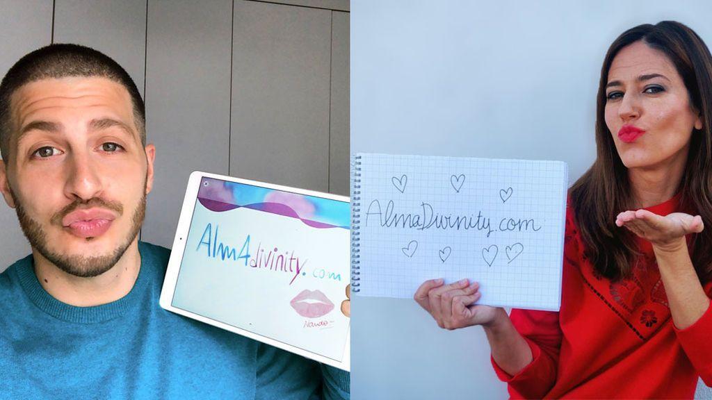 Nuria Marín y Nando Escribano nos envían su #BesoConAlma