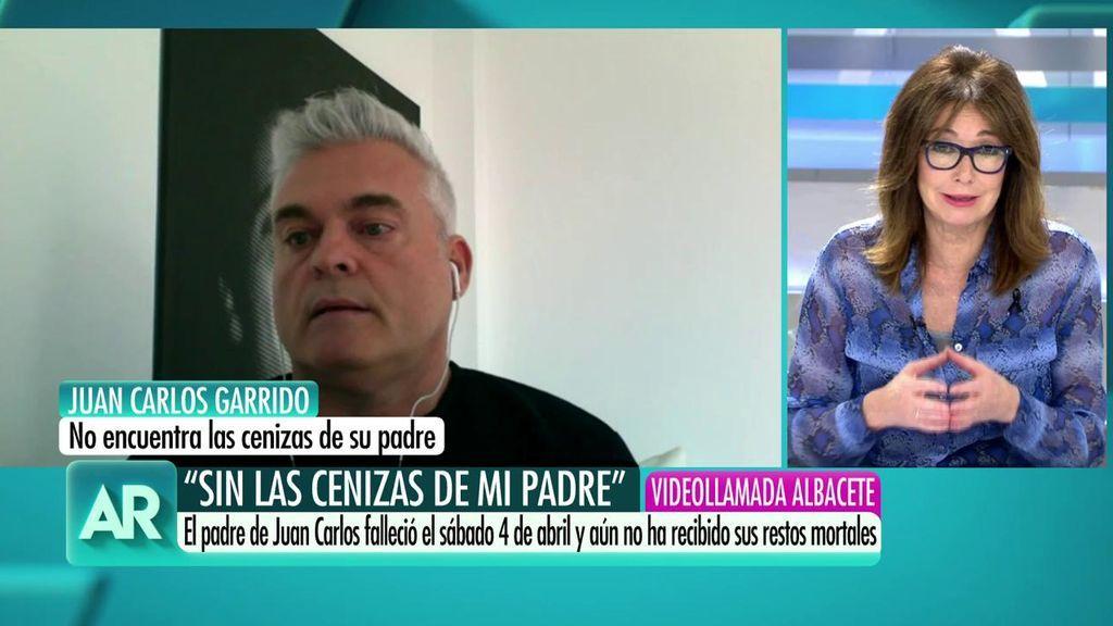 Juan Carlos cuenta cómo falleció su padre sin ir al hospital