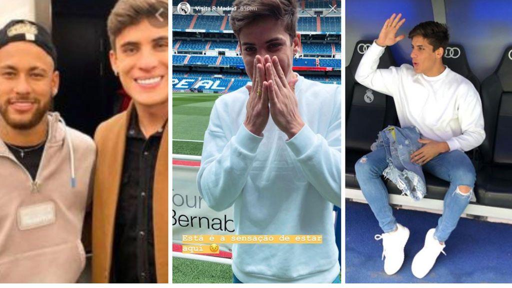 """Gamer, 'tiktoker', exfutbolista retirado y un """"enamorado del Real Madrid"""": el nuevo padrastro de 22 años de Neymar"""