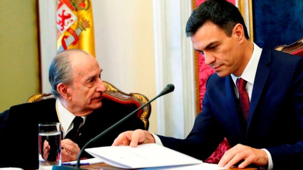 Muere Landelino Lavilla, presidente del Congreso durante el 23F