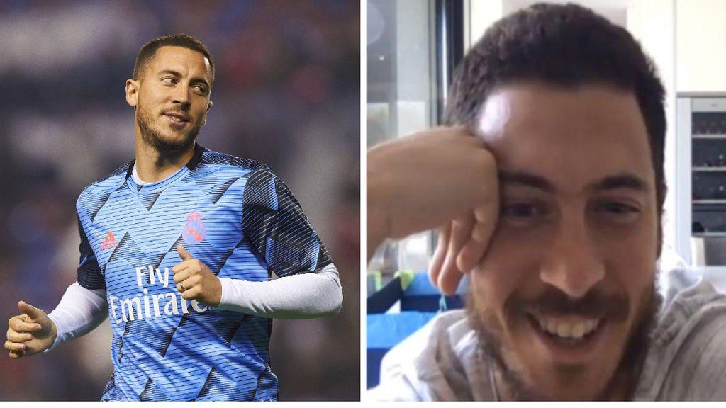 """El truco de Hazard para no engordar durante el confinamiento: """"Intento no ir mucho a la despensa a por bollos"""""""