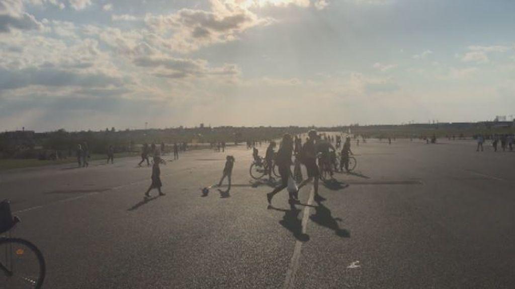 Alemania con gente en las calles