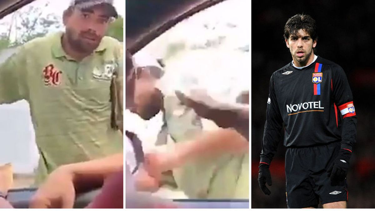 """Juninho Pernambucano, aplaudido tras defender a un mendigo que había sido agredido: """"La rabia que siento es tan grande"""""""