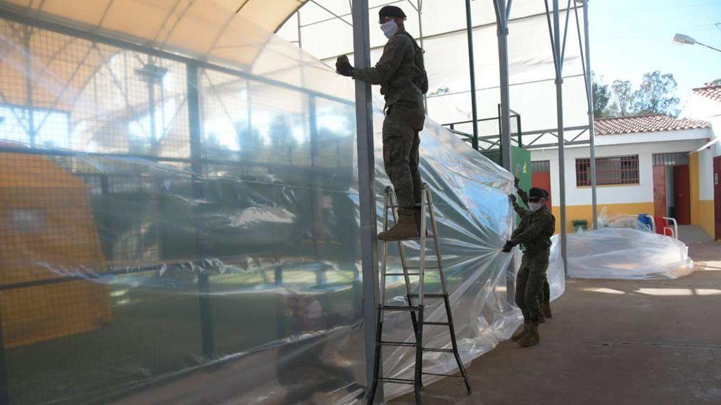 El Ejército instalará por primera vez un hospital de campaña junto a la cárcel de Picassent