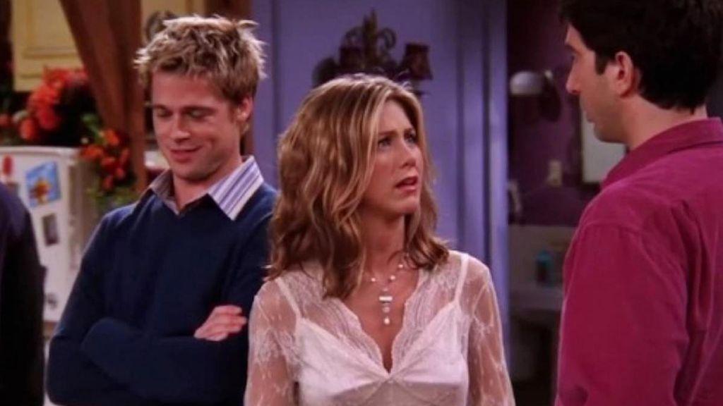 Brad Pitt en 'Friends'.