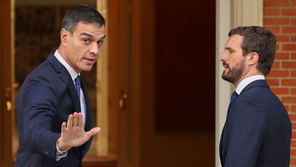 El PP, indignado con el Gobierno al enterarse por la prensa de la cita entre Sánchez y Casado del jueves