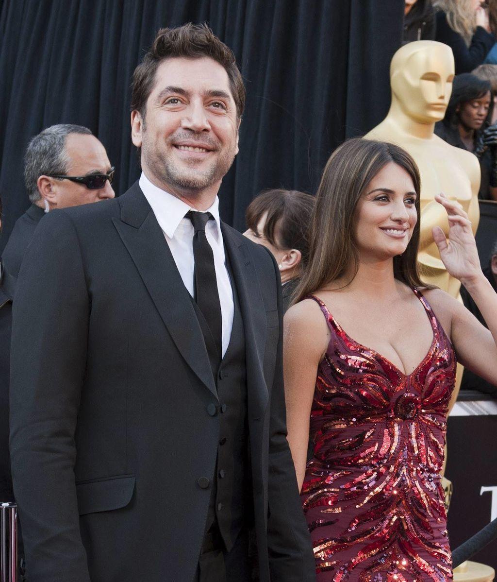 Javier Bardem y Penélope Cruz, en los Oscar 2018