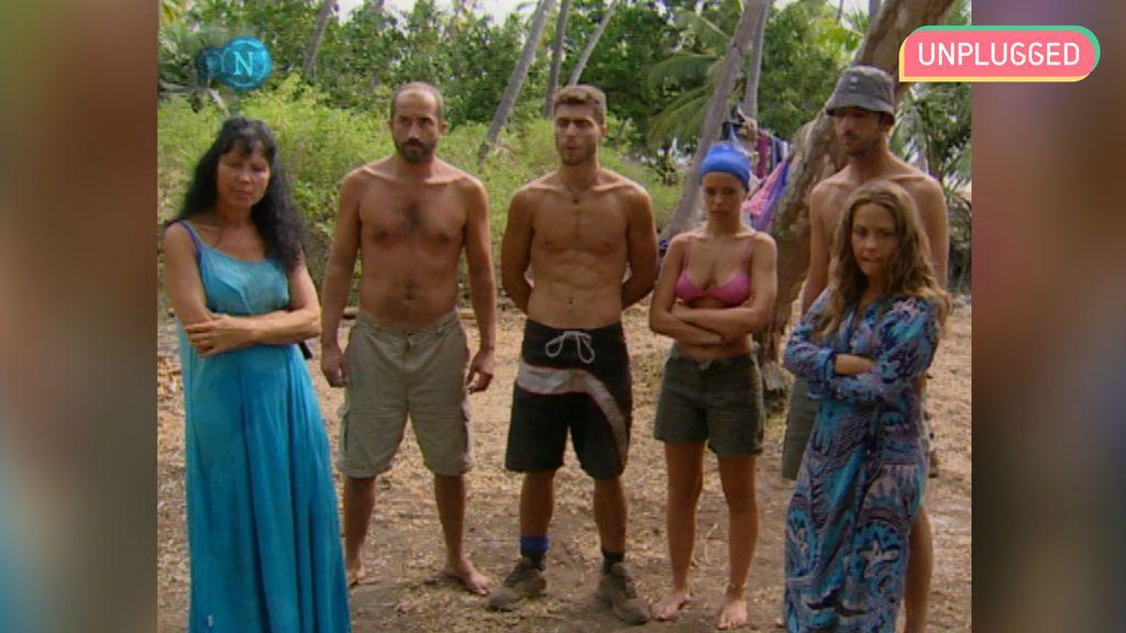 Concursantes de 'Supervivientes 2001'