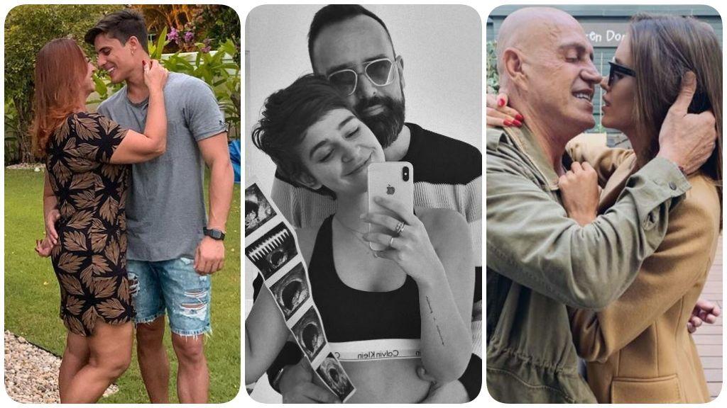 De la madre de Neymar a Risto y Escanes: El amor con diferencia de edad toma la crónica rosa