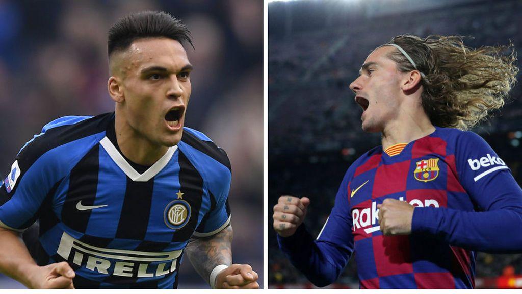 El Inter de Milán insiste, dejarán salir a Lautaro Martínez si consiguen el traspaso de Griezmann