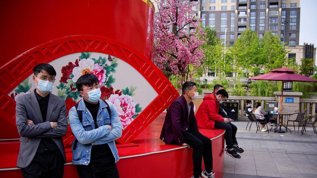 Ciudad de Wuhan el 14 de abril