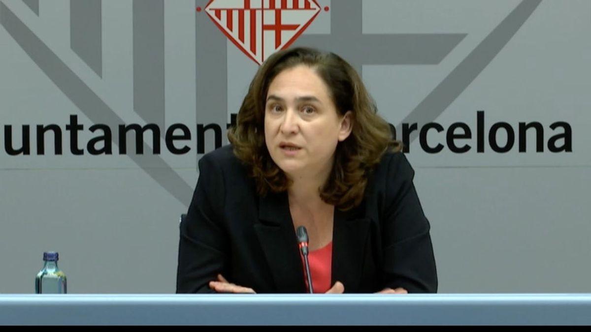 Ada Colau pide ayuda económica al Gobierno central por la caída de los ingresos en Barcelona