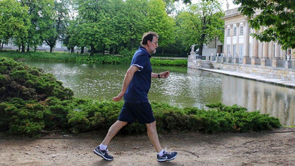 Mariano Rajoy no da ejemplo: se salta el confinamiento para salir a correr