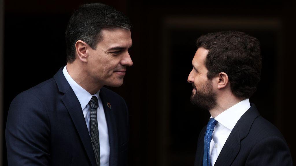 Sánchez cita a Casado el jueves a una reunión en Moncloa pero no le llama para contárselo