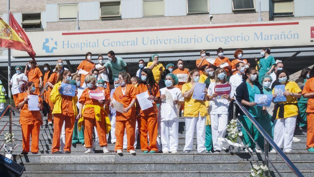 Coronavirus: 26.672 sanitarios infectados en España