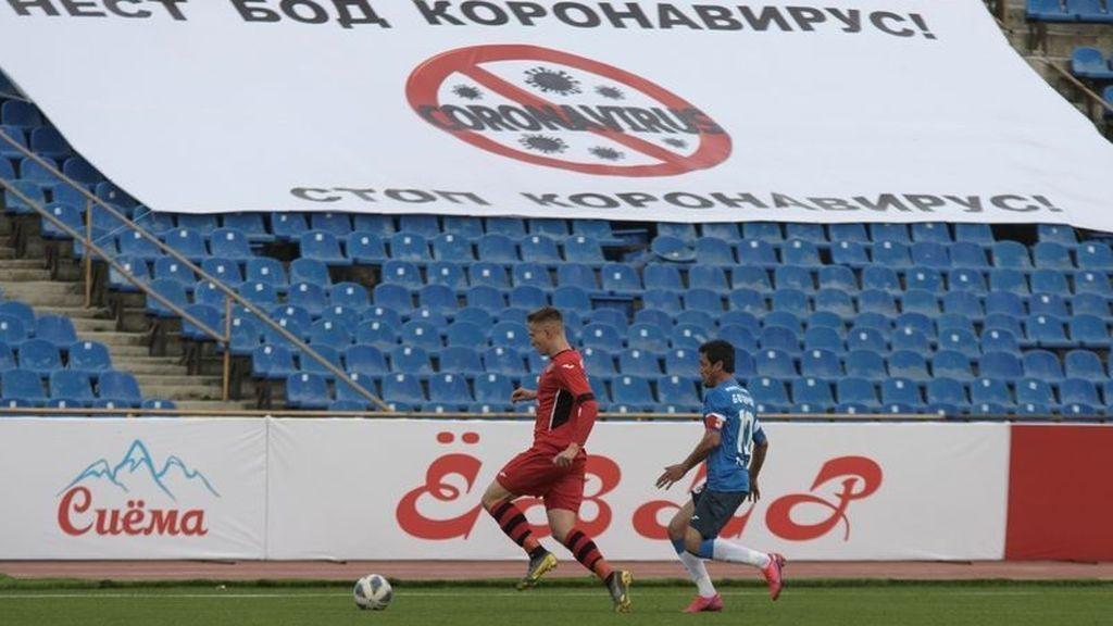 La liga se disputa en Tayikistán a pesar del coronavirus