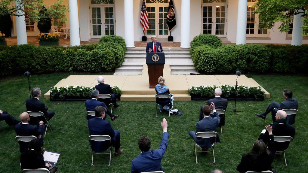 Trump suspende la financiación de EEUU a la OMS