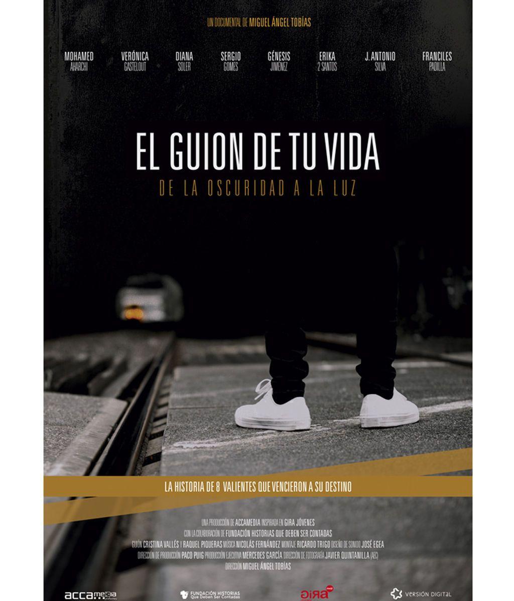 Cartel del documental 'El guion de tu vida'