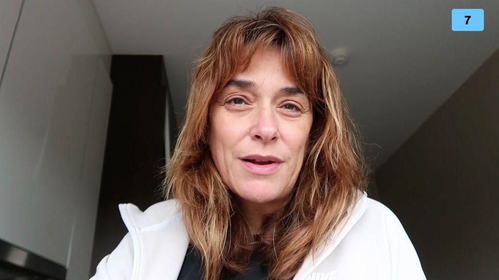 Toñi se sincera con su amiga Nagore por videollamada (1/2)