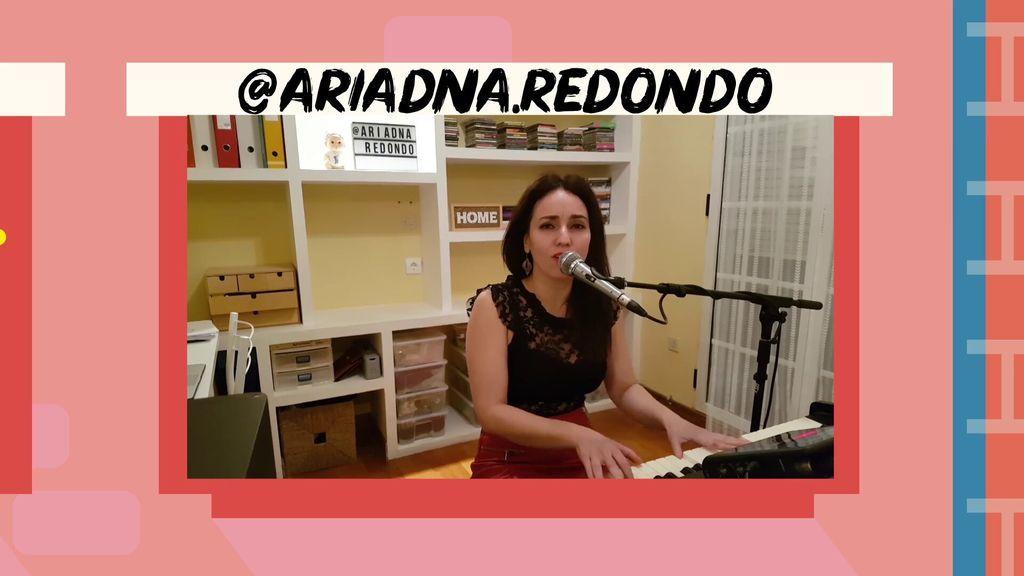 Escucha mi voz así nos lo canta @ARIADNA.REDONDO para recordarnos que todo va a salir bien