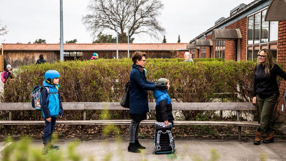 Dinamarca vuelve a abrir colegios y guarderías tras un mes de confinamiento debido al coronavirus