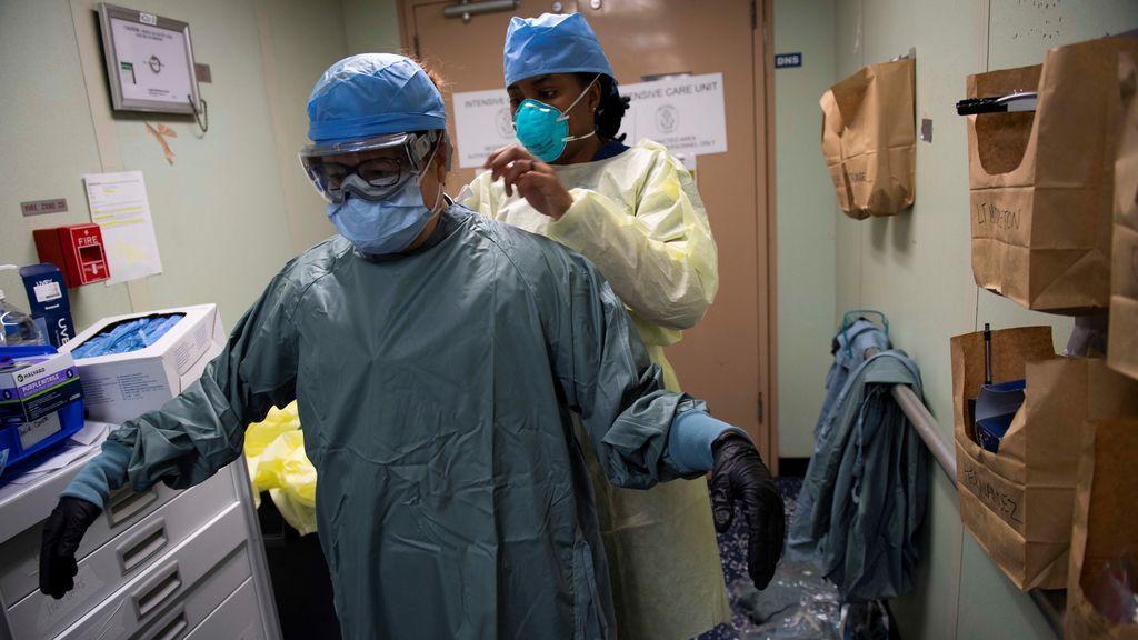 Nueva York registra un leve descenso en muertes con coronavirus