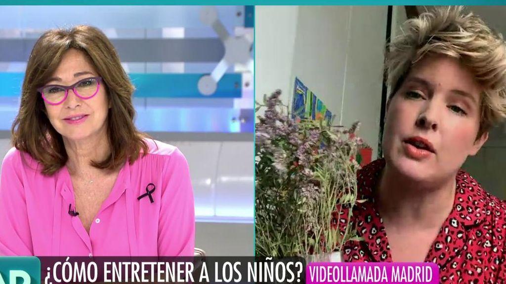 """Ana Rosa, sorprendida con las habilidades de Tania Llasera: """"Recomiendo que todo el mundo tenga un rincón de retales"""""""