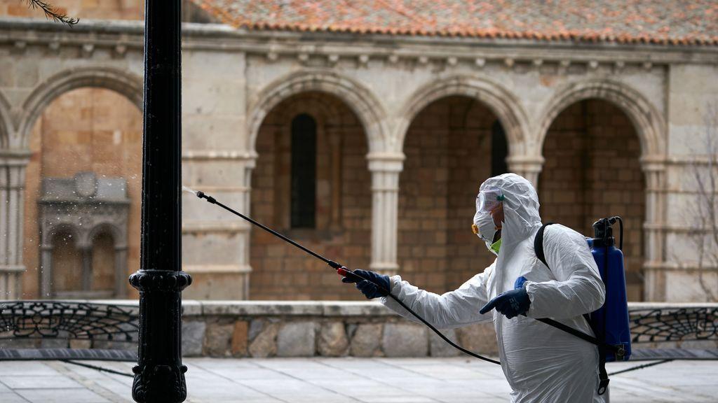 Cultura desaconseja usar lejía u otros productos corrosivos para desinfectar el patrimonio cultural