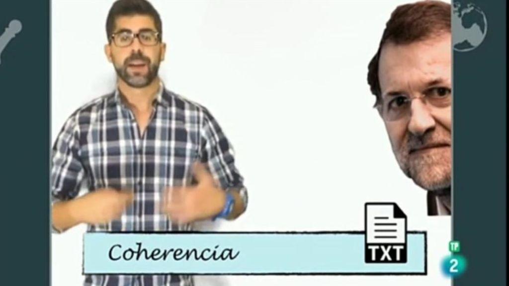 El Ministerio de Educación se disculpa por poner a Rajoy como ejemplo de incoherencia en un programa de La 2