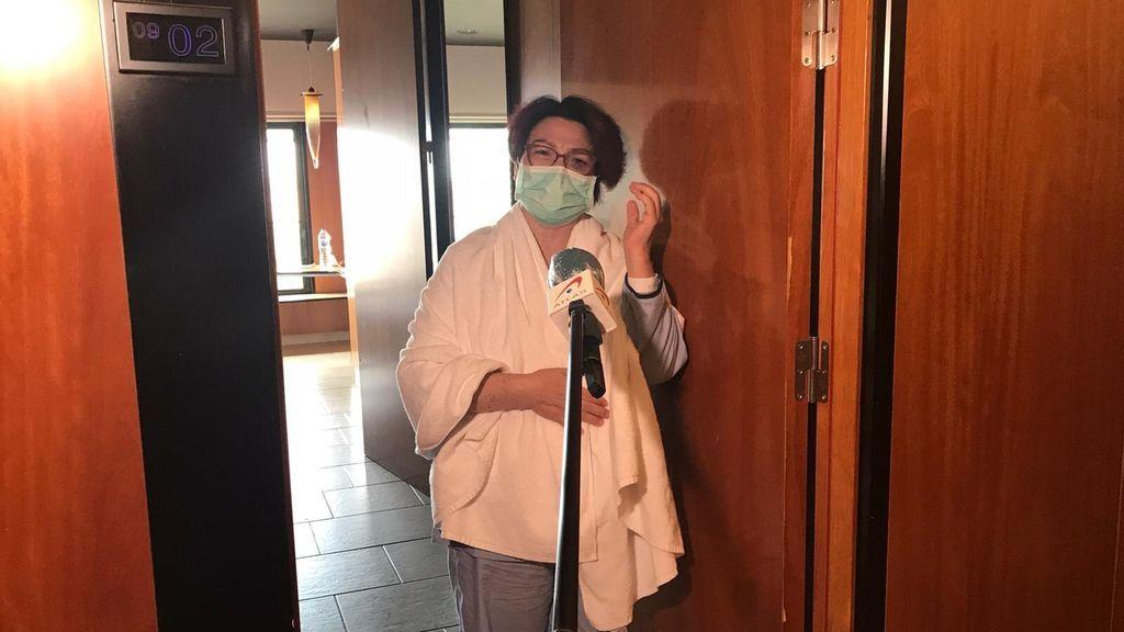 Un hotel transformado en hospital: así pasan la cuarentena 200 pacientes tras recibir el alta médica
