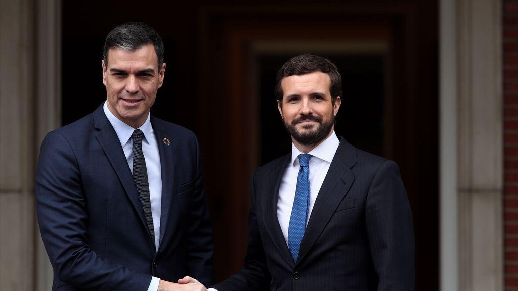 Habrá reunion Sánchez- Casado: el lunes a las 11 por videoconferencia