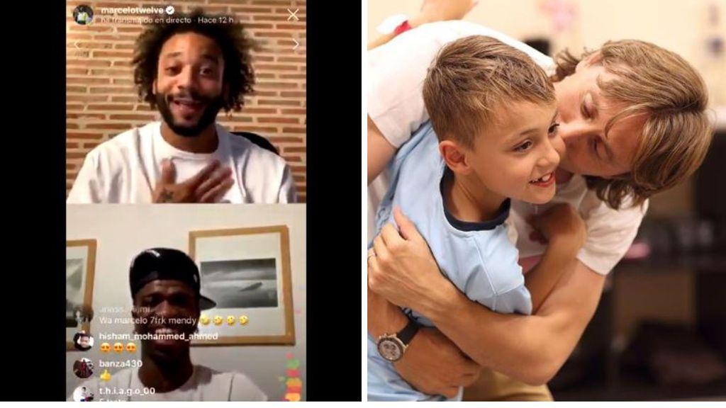 """Marcelo conciencia a Vinicius de la importancia de quedarse en casa: """"Modric salió a la calle y la Policía le dijo que le iba a multar"""""""