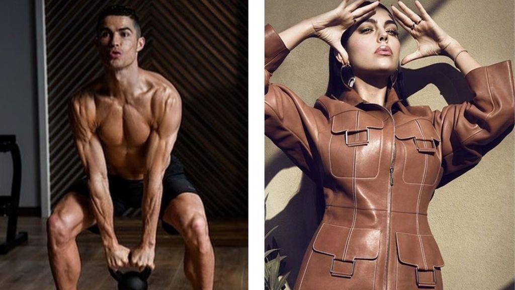 Un descuido de Georgina filtra el secreto de la dieta de Cristiano Ronaldo